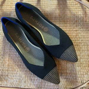 Rothy's RARE Limited Edition Licorice Points Flats